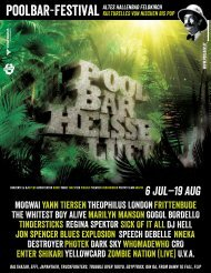 6 Jul−19 Aug - Poolbar