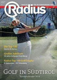 Radius Golf 2019