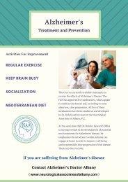 Alzheimer's Treatment and Prevention