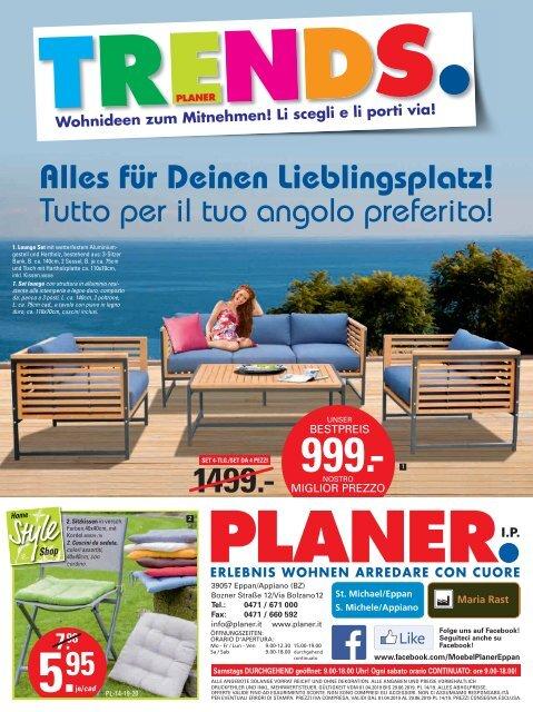 Gartenmöbel-Planer