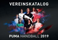 PUMA Vereinskatalog Fussball 2019