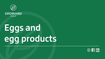 Groward Group - Eggs and egg products