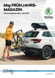 bhg Skoda After Sales Magazin Frühling 2019