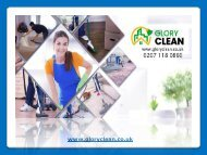 Professional Cleaning Services by Glory Clean