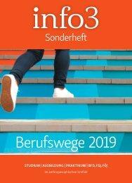 Sonderheft Berufswege 2019 - Info3 Verlag