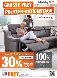 Interliving FREY - Grosse FREY Polster-Altionstage