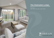 COUNTRY CLUB CLEARWATER 3 BED LODGE FACT SHEET - 260219