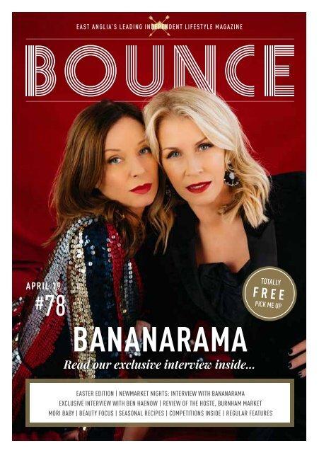 Bounce Mag azine April 19