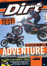 Dirt and Trail April 2019