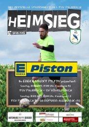 TSV Palmbach Saison 18-19 Heft 9