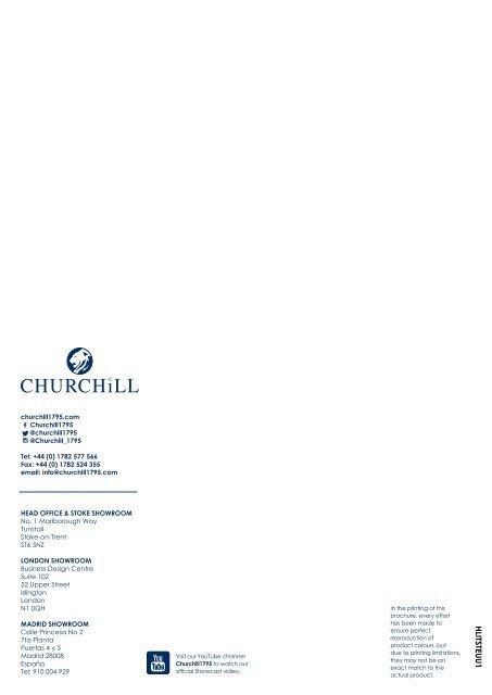 Neues von Churchill Stonecast