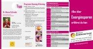 Dr. Meeno Schrader Programm Samstag & Sonntag