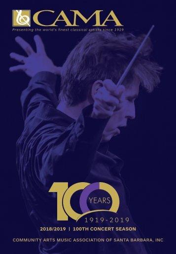 Friday, April 5, 2019—CAMA Presents Royal Scottish National Orchestra—International Series at The Granada Theatre—Santa Barbara, CA—8:00PM