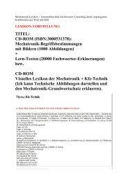 BILDERSUCHE Technik-BEGRIFFE (BEISPIELE)