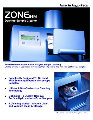 ZONESEM - Hitachi High-Technologies Europe