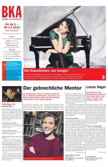 Berner Kulturagenda N°12