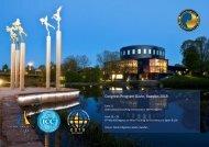 Program for World Congress In Sweden 11-16/6 2019