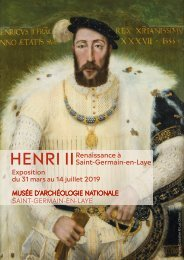 Exposition Henri II Dossier de presse