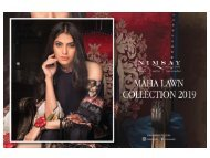 Maha Lawn Unstitched Collection 2019