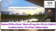 Mantra 99 Riverfront At www.mantra99riverfront.org.in
