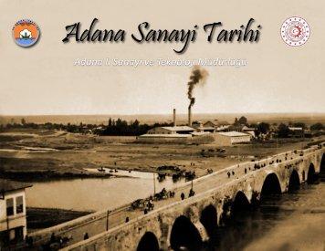 Adana Sanayi Tarihi