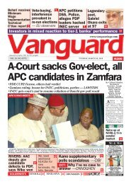 26032019 - A-Court sacks Gov-elect, all APC candidates in Zamfara