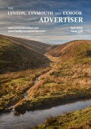 Lynton, Lynmouth and Exmoor Advertiser, April 2019