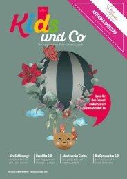 Kids und Co Ostthüringen, Ausgabe Frühling 2019