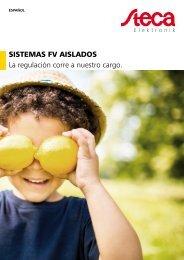 Steca Elektronik catálogo sistemas fv aislados (13|2019)