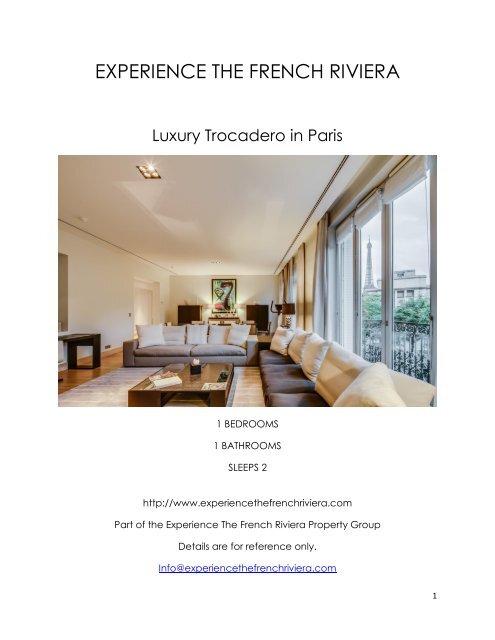 Luxury Trocadero - Paris