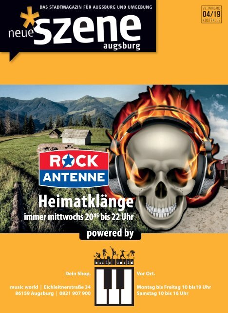 Neue Szene Augsburg 2019-04