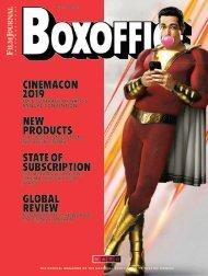 Boxoffice - April 2019