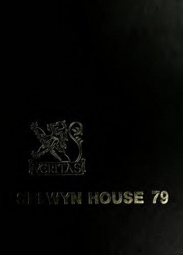 Selwyn House School Yearbook 1979