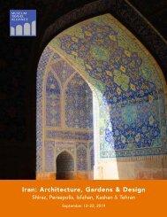 Museum Travel Alliance -- Iran: Architecture, Gardens & Design