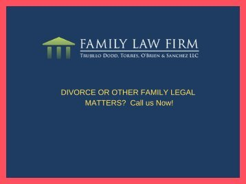 Family Law Firm Attorneys