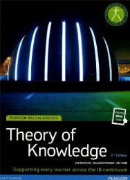 SHELF 9781447944157, Pearson Baccalaureate Theory of Knowledge 2nd Ed (print   eText bundle)60p