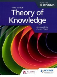 SHELF 9781471804151, Theory of Knowledge 3e 60p