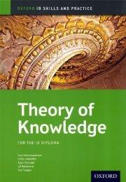 SHELF 9780199129744, IB Theory of Knowledge Skills & Practice 50p