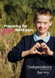 NDIS Pre-planning-booklet