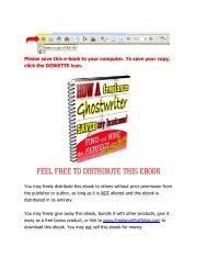 How A Freelance Ghostwriter Saved My Business!