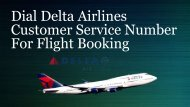 Dial Delta Airlines Customer Service Number