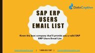 Where can I get opt-in SAP ERP Users Email List in US