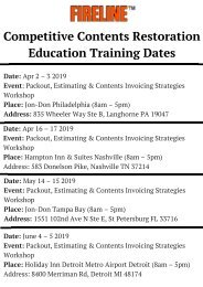 Competitive Contents Education Training Dates