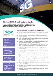 5G Infrastructure Market Forecast, 2019-2025