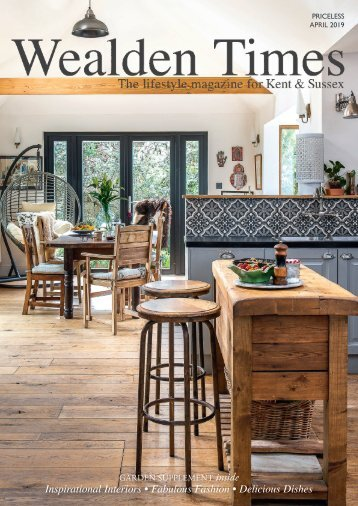 Wealden Times | WT206 | April 2019 | Garden supplement inside