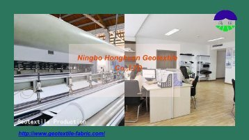 China Woven Geotextile Fabric Manufacturer -