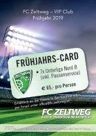 FC Zeltweg Folder Frühjahr 2019 - Seite 6