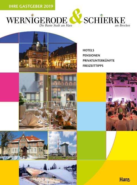 Gastgeberverzeichnis Wernigerode - Schierke 2019 (aktualisiert März 2019)