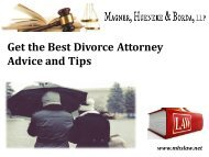 Get the Best Divorce Attorney Advice and Tips