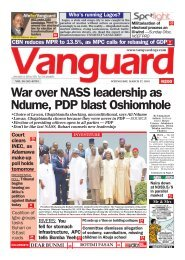 27032019 - War over NASS leadership as Ndum , PDP Blast Oshiomole